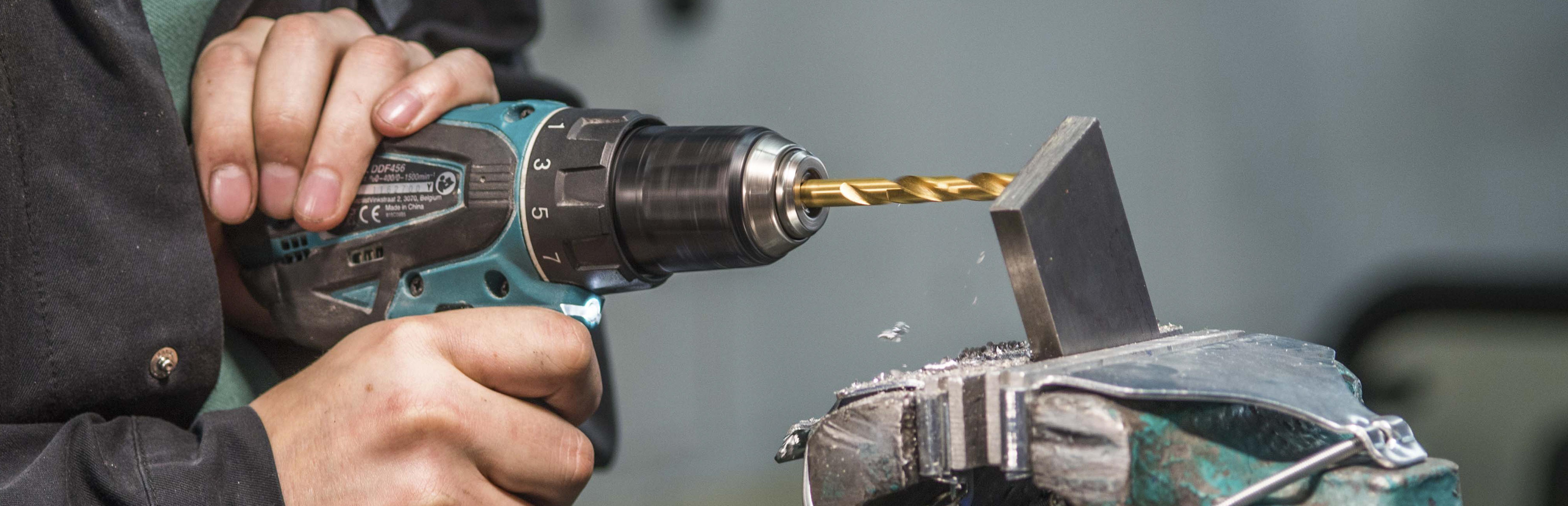 2mm HSCo8 Din 338 xT33 Drill Tin Coated x 4