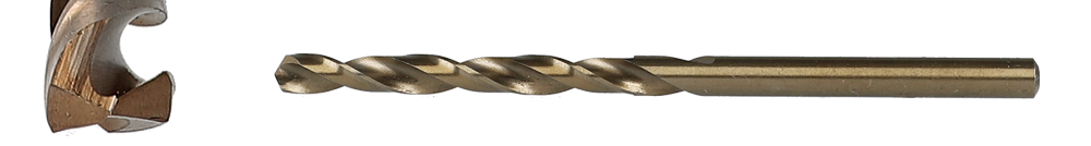 13mm HQ HSS Cobalt Twist Drill Bits HSS-Co For Hard Metal Stainless Steel 1mm