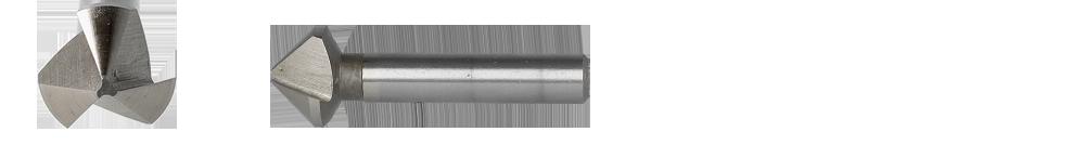 HELLER 6.3 MM HSS Deburring Countersinks 90° MODEL 225830 BRAND NEW